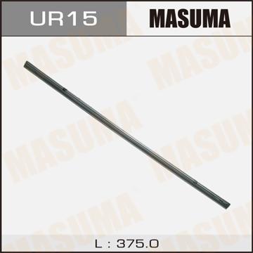 Masuma UR-15 Лента щетки стеклоочистителя 15 , (375мм) х 6мм