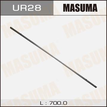 Masuma UR-28 Лента щетки стеклоочистителя 28 , (700мм) х 8мм