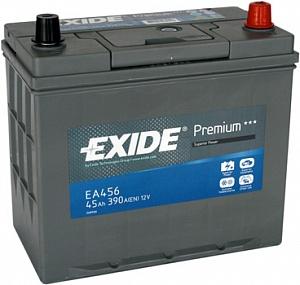 EXIDE EA456 Аккумуляторная батарея Premium 45Ah 390A 234х127х220 (-/+)