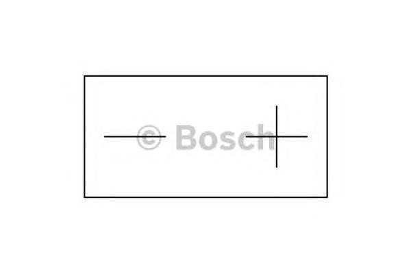 Bosch 0092M60090 Аккумулятор M 6 AGM technology - 12 volt (M6 009), 7 Ач 113x70x105