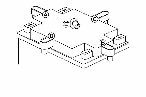 Bosch 0092M60160 Аккумулятор M 6 AGM technology - 12 volt (M6 016), 11 Ач Y5 150x88x105